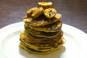 coconut flour banana pancakes buttermilk