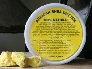 African Shea butter for Contact Dermatitis