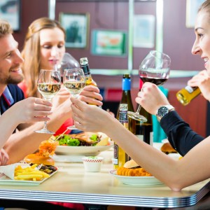 eating out with skin allergies