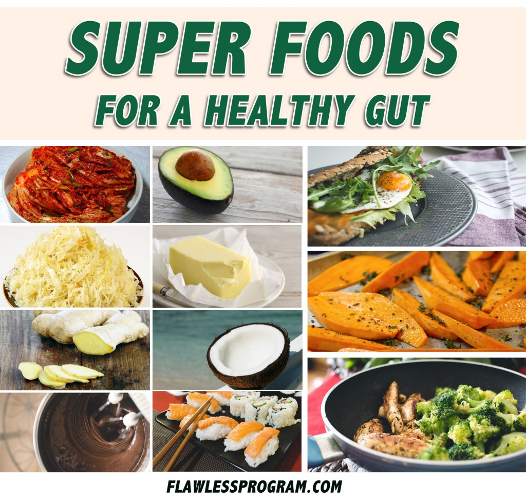 Eat these superfoods for eczema and a healthy gut!