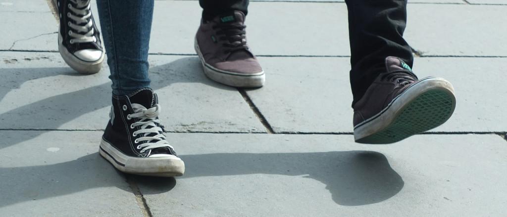 walkingeczema