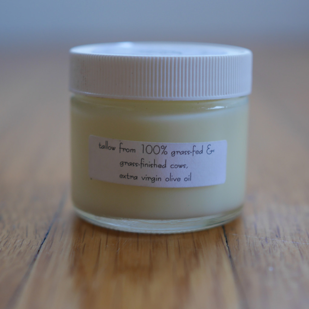 Tallow balm for eczema